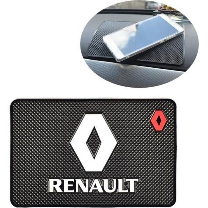 Accessoires Voiture,Tapis antidérapant pour Renault Logo Megane Kadjar scénic Laguna 2 3 Duster Captur Fluence Espace Frendzy tapis
