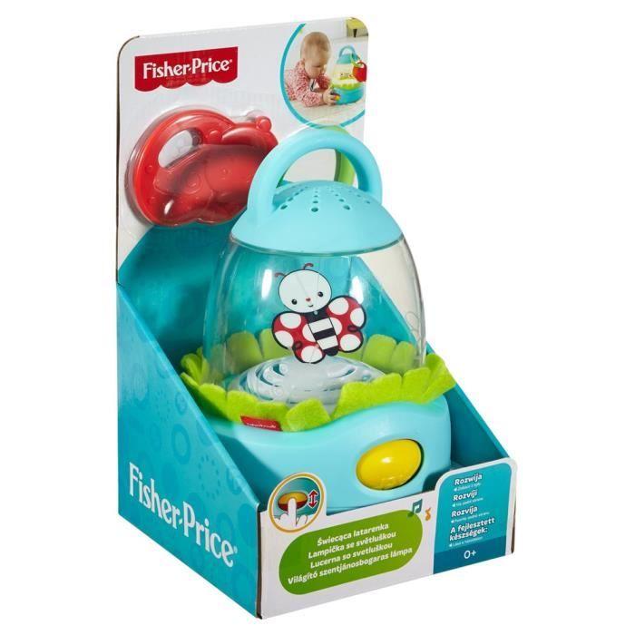 jeu apprentissage bébé Fisher Price Firefly Lantern