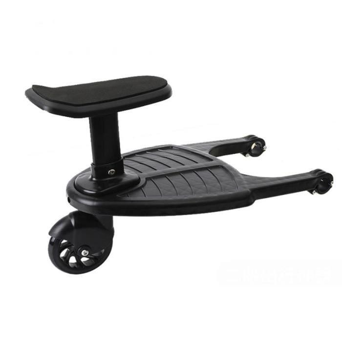 Enfant Pédale auxiliaire Great Premium Pratique Poussette Assisté Scooter pour assise poussette accessoires promenade-voyage