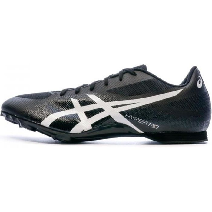 Chaussures d'Athlétisme Noires Homme Asics Hyper MD 7