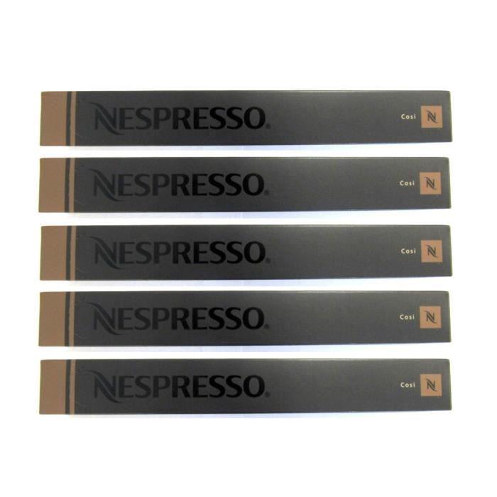 Nespresso Cosi 50 Capsules