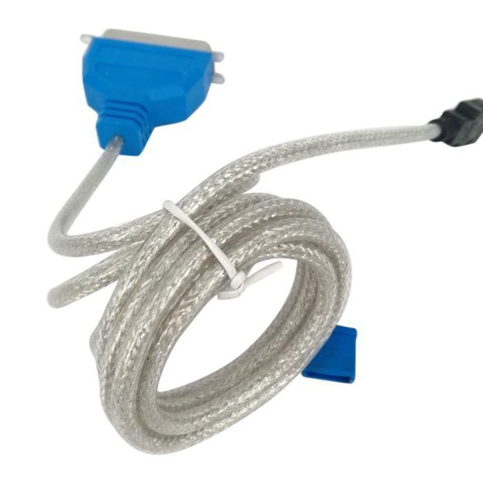 VSHOP/® USB Centronics Port Adapter Cable Adaptateur Parall/èle IEEE1284 pour Brother Canon Epson Stylus Lexmark HP Hewlett Packard Imprimante Imprimer Printer avec 36 Contacts//Pins IEEE-1284 Centronic WIN 98SE 2000 XP Vista 7 8 compatible pour