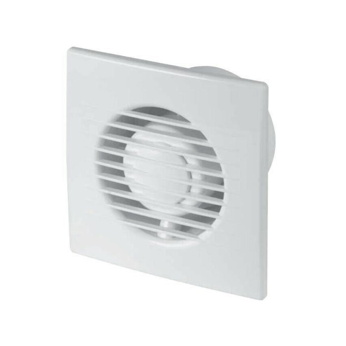 """Argent salle de bain extracteur ventilateur 4/"""" 100mm avec tirette interrupteur ventilateur SS100W"""