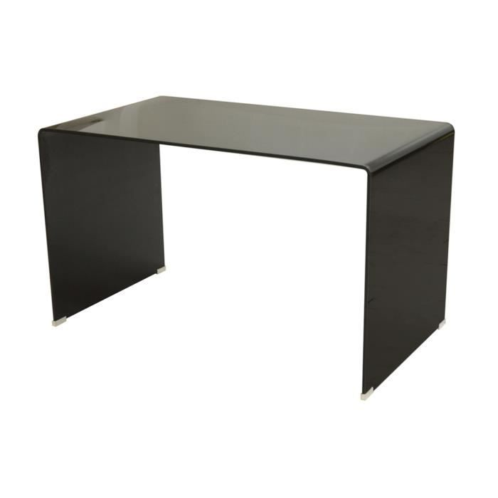 bureau droit en verre noir vitra achat vente bureau. Black Bedroom Furniture Sets. Home Design Ideas