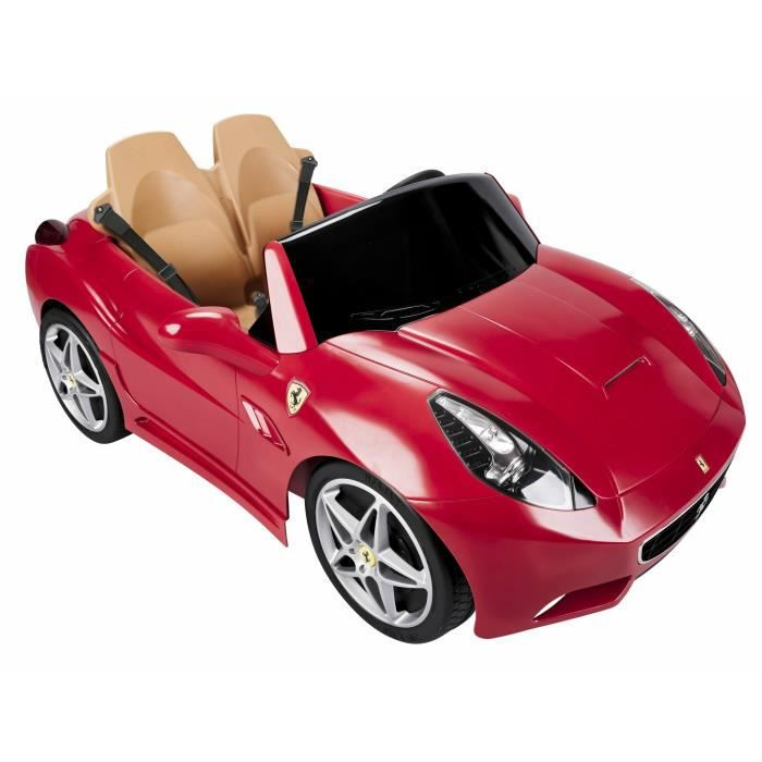 feber voiture ferrari california v hicule electrique pour enfant 12 volts achat vente. Black Bedroom Furniture Sets. Home Design Ideas
