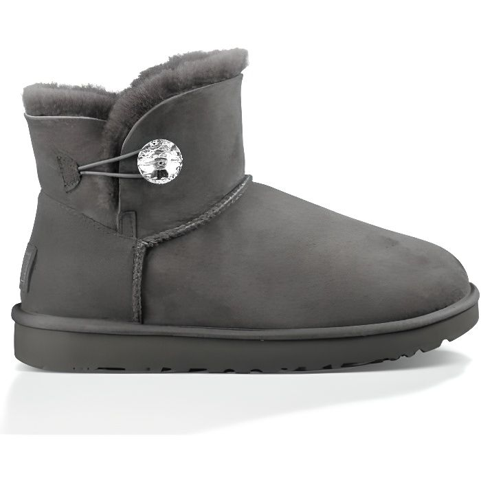 BOTTINES UGG MINI BAILEY BUTTON BLING
