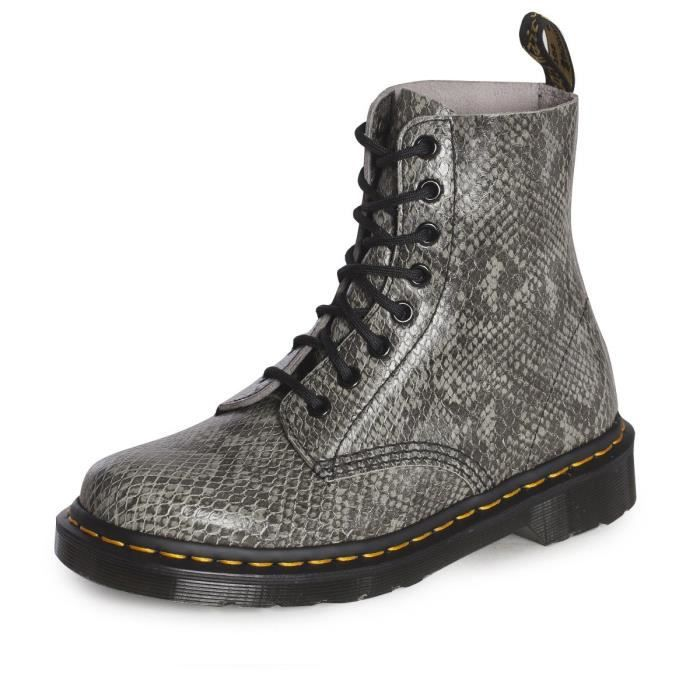 Boots Pascal Croco Black W h17 - Dr Martens qB76yet