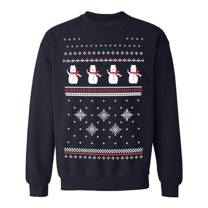 Sweat-shirt Alternative Xmas Noël Femme Noir