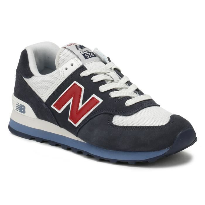 basket new balance 574 rouge