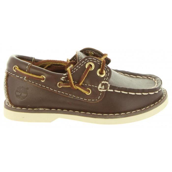 chaussure bateau noir timberland