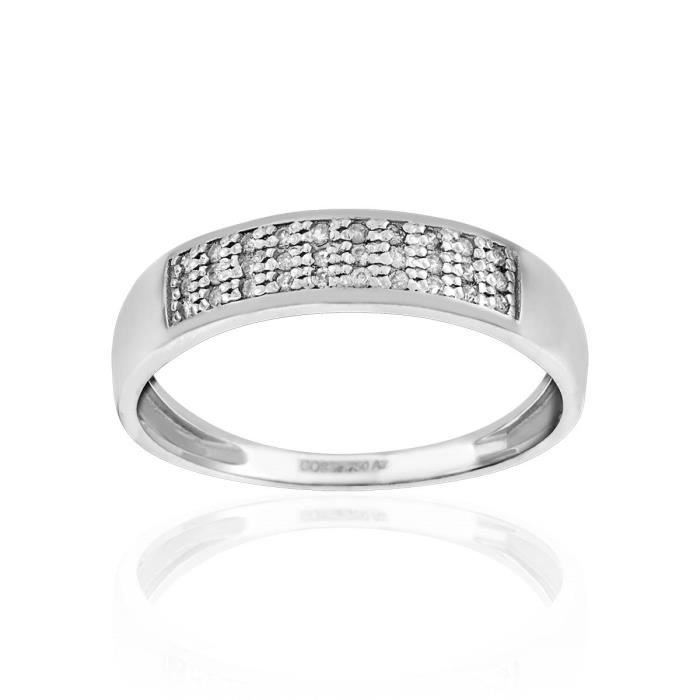 Bague CLEOR Or 750/1000 Diamant