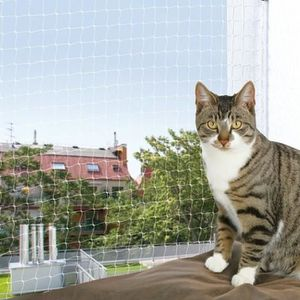 TRIXIE Filet de protection chat 6x3 m transparent