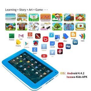 "TABLETTE TACTILE 7"" plus récent INCH KIDS ANDROID 4.4 TABLETTE Camé"