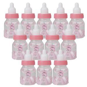 JZK 24 x Rose biberon Bouteille de Bonbons Bouteille de faveur bo/îtes bo/îte Cadeau pour faveurs Cadeaux et Bijoux pour Enfants confettis friandises