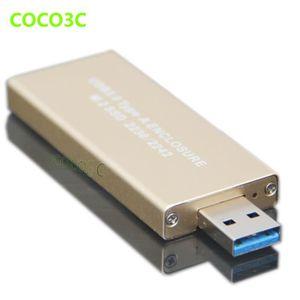 HOUSSE DISQUE DUR EXT. Boîtier USB 3.0 à M.2 SSD USB3.0 à NGFF B adaptate