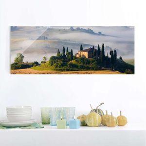 CADRE PHOTO 40x100 cm verre image - immobilier en toscane - cr