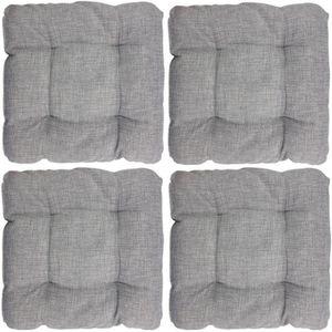 Tartan design carré siège pad 100/% polyester zippé chaise coussin 40cm x 37cm