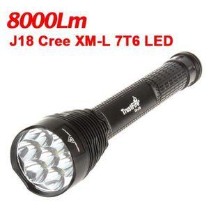 LAMPE DE POCHE 8500LM Lampe Torche Militaire Ultra Puissante de P