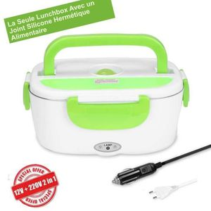 LUNCH BOX - BENTO  Boîte Chauffante Hermétique Gamelle Lunch Box Élec