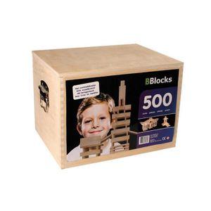 ASSEMBLAGE CONSTRUCTION Coffret de 500 Planchettes en Bois - Bblocks 30051