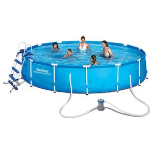Piscine autostable tubulaire bestway achat vente for Achat piscine autoportante