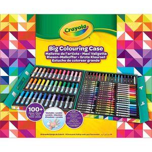 JEU DE COLORIAGE - DESSIN - POCHOIR Crayola - Mallette de l'Artiste - Activités pour l
