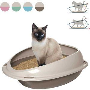 BAC À LITIÈRE Bac à litière pour grand chats