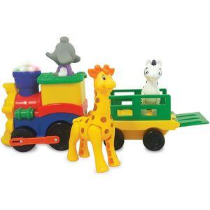VOITURE - CAMION Petit train animaux Safari jouet interactif sons e