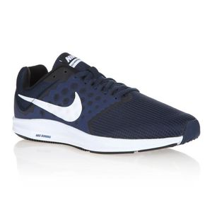 CHAUSSURES DE RUNNING NIKE Baskets de Running Downshifter 7 - Homme - Bl ... ae1c8fc9e951