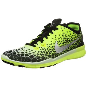 big sale 882e9 38d79 CHAUSSURES DE RUNNING NIKE Femmes Free 5.0 Tr Fit 5 Fabric Running Shoe