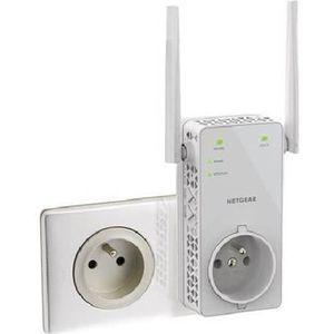 POINT D'ACCÈS NETGEAR  Répéteur Wifi 1200 Mbps Double Bande EX61