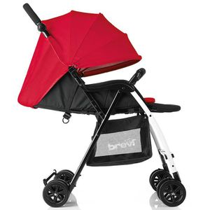 POUSSETTE  BREVI Poussette Canne Mini Large Rouge
