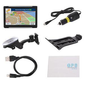 GPS AUTO Système de Navigation Automobile Gps Portable Écra