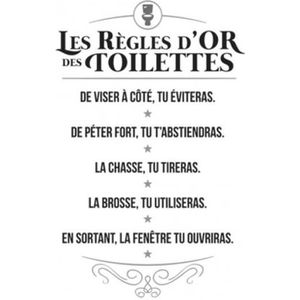 Regles Des Toilettes