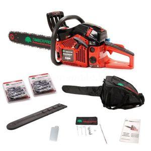 TRONÇONNEUSE TIMBERPRO Tronçonneuse thermique - 62cm3 - Guide 5