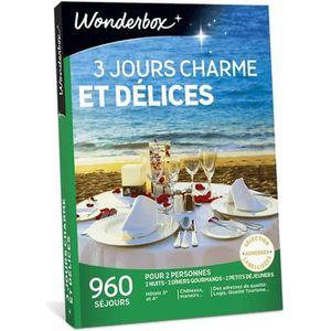 COFFRET SÉJOUR Wonderbox - Coffret cadeau pour deux - 3 Jours cha