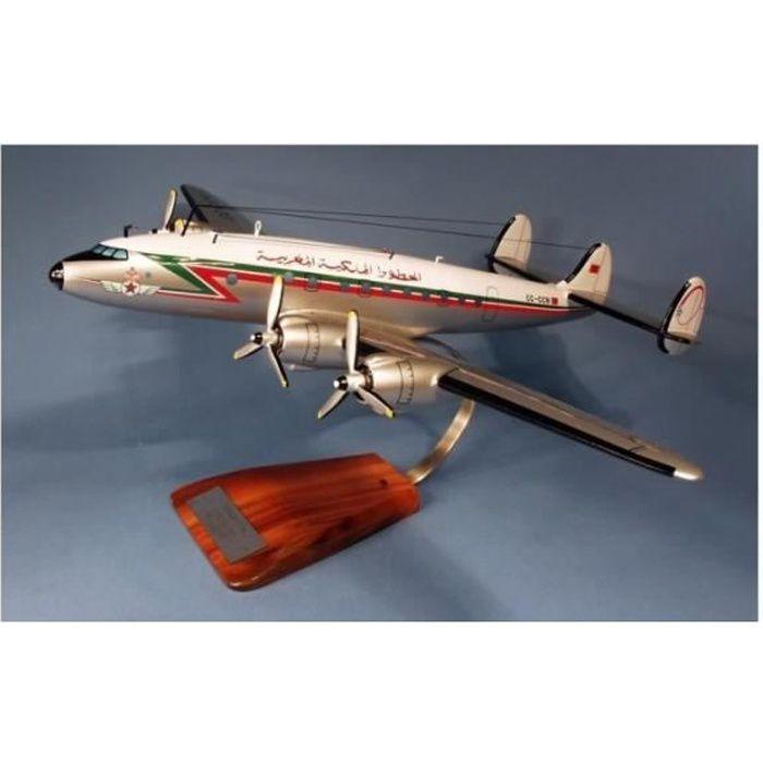 maquette avion - Lockheed L-749 Constellation Royal Air Maroc