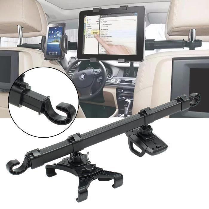 TEMPSA 360° Support Rotation Télescopique Appui-Tête Porte Tablette Phone Voiture Auto Voyage