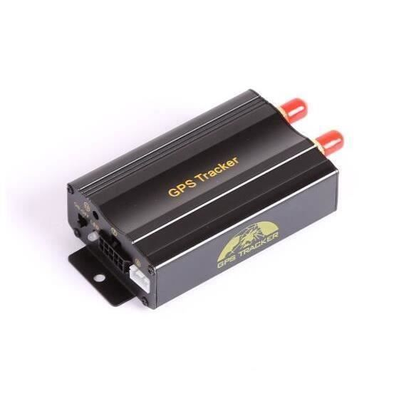 GSM-GPRS-GPS Auto Véhicule TK103B Voiture GPS Tracker Dispositif de Suivi avec Télécommande Anti-vol Système D'alarme De Voiture