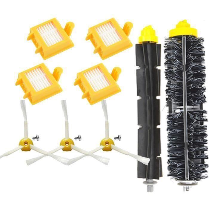 Unny 12pcs Filtre Kit Pièces accessoires outil Aspirateur Pour tous les modèles iRobot Roomba Série 700 ,760, 770, 780, 790