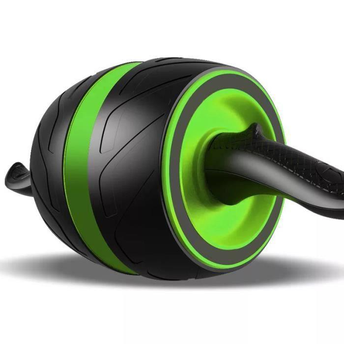 Roue Abdominale Roue AB Roue Fitness pour le fitness et l'entraînement des abdominaux-muscles de l'épaule-musles du bras-muscles