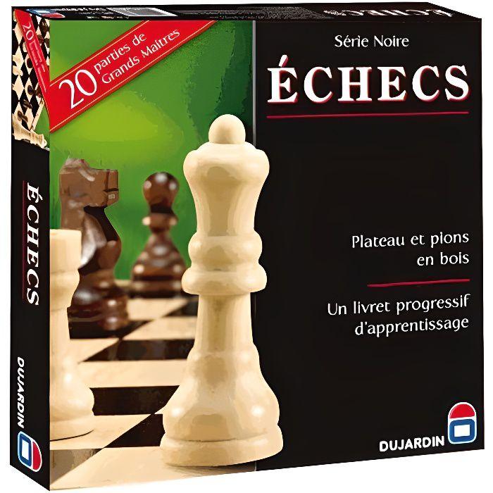 SERIE NOIRE ECHECS PLATEAU - 55331 -Le roi des jeux de société !