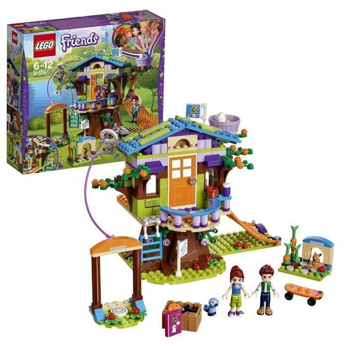 LEGO®-Friends La cabane dans les arbres de Mia Jouet pour Fille et Garçon à Partir de 6 Ans et Plus, 351 Pièces 41335