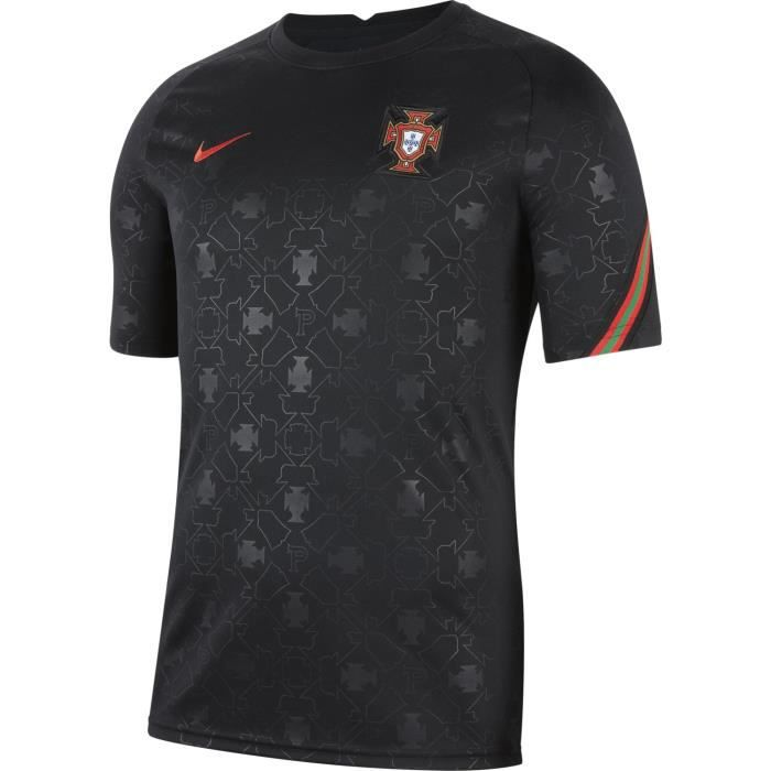 Maillot Nike Portugal Pre-match noir homme