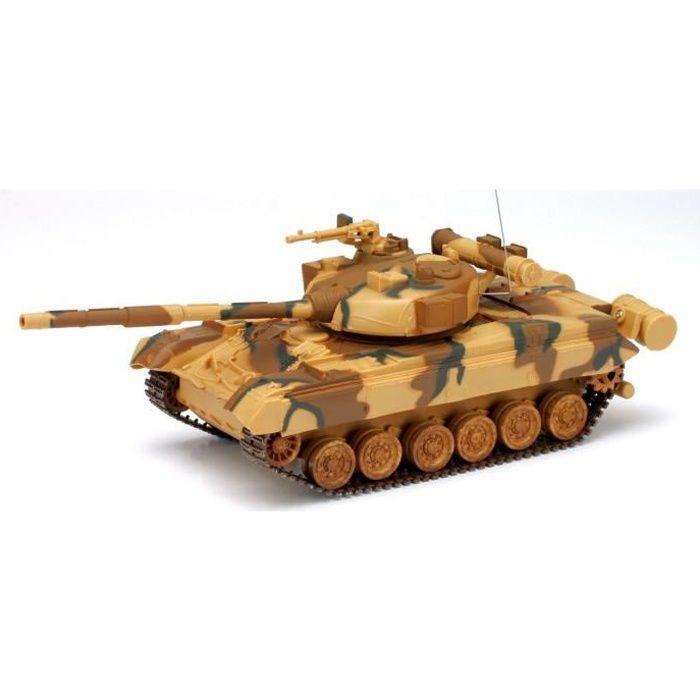 NEWRAY 87533 Tank Militaire T80 Miniature - Radiocommandé - 1/32° - 29,5 cm