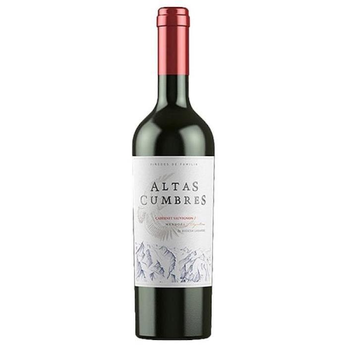VIN ARGENTINE - ALTAS CUMBRES CABERNET SAUVIGNON 7