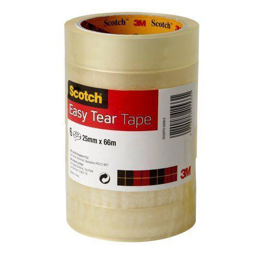 Scotch Rouleaux de ruban adhésif Transparent 25…