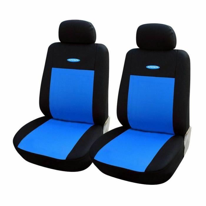 Housse de Siège Auto Universelle coussins pour Siège Voiture,auto Protecteur de siège, Couvre Siège voiture - Bleu32