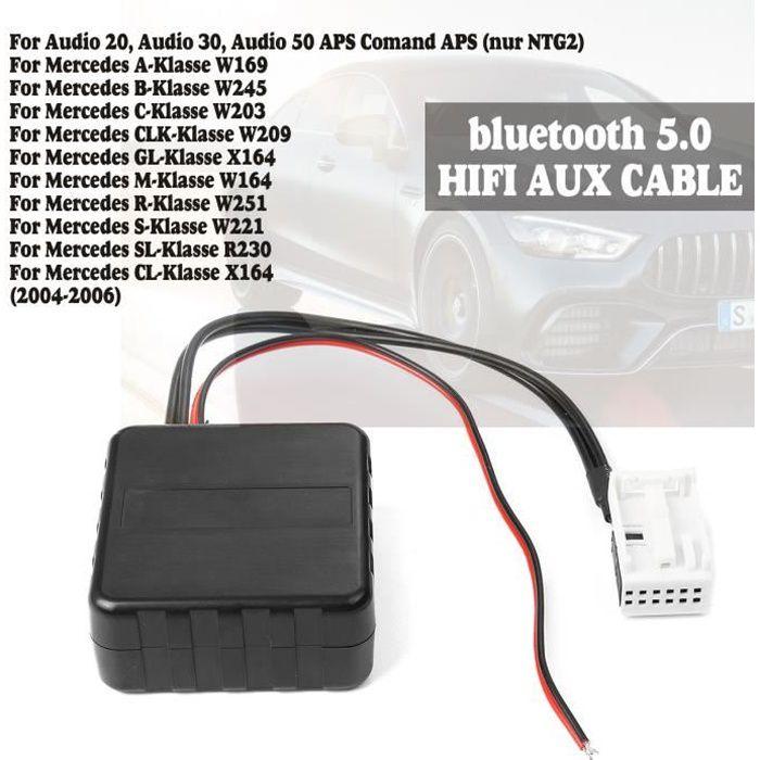 TEMPSA Adaptateur bluetooth AUX Câble Module Pour Mercedes Comand APS NTG CD 20 30 50