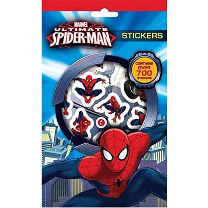 Jeu De Coloriage Cwrcu 2xmarvel Ultimate Spider Man 700 Autocollants Paquet Achat Vente Jeu De Coloriage Dessin Pochoir Cdiscount